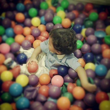 #piscina #bolinha #colorido #crianca #brincar Criança Colorido Bolinha Piscina Brincar