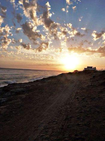 Sunset. Beautiful Enjoying Life Taking Photos Hello World