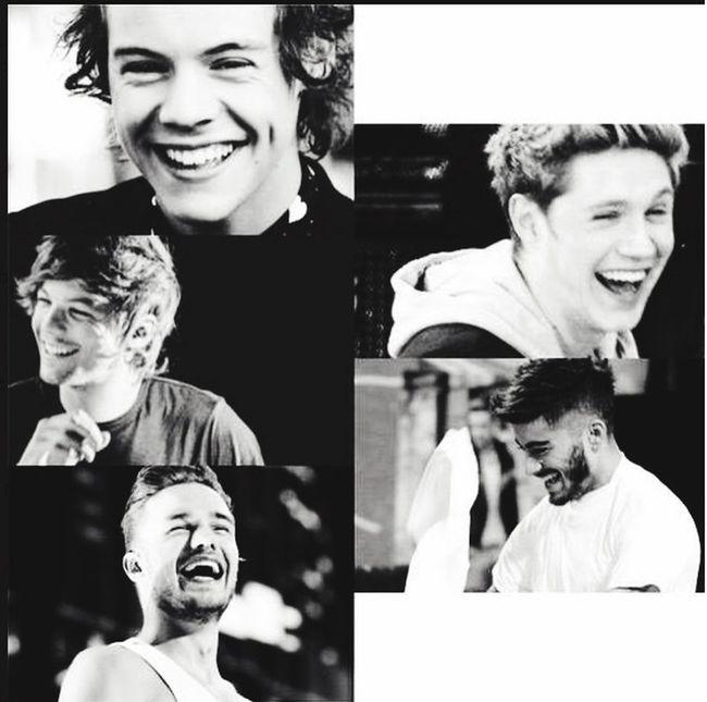 Leurs sourires..?❤️❤️ Harry Styles Niall Horan Zayn Malik Liam Payne Louis Tomlinson One Direction