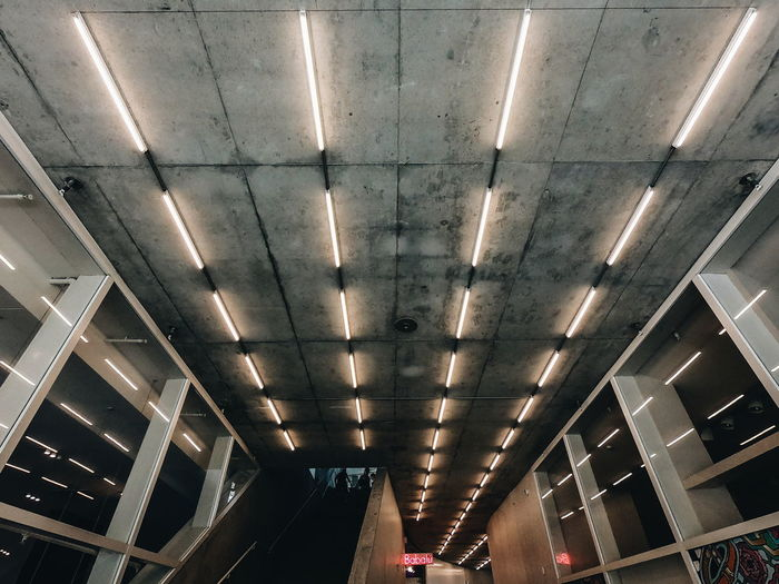 perspectives Lights Bulb Power Day Roof Sealing Concrete Illuminated Ceiling Lighting Equipment Architecture The Street Photographer - 2018 EyeEm Awards The Traveler - 2018 EyeEm Awards The Architect - 2018 EyeEm Awards