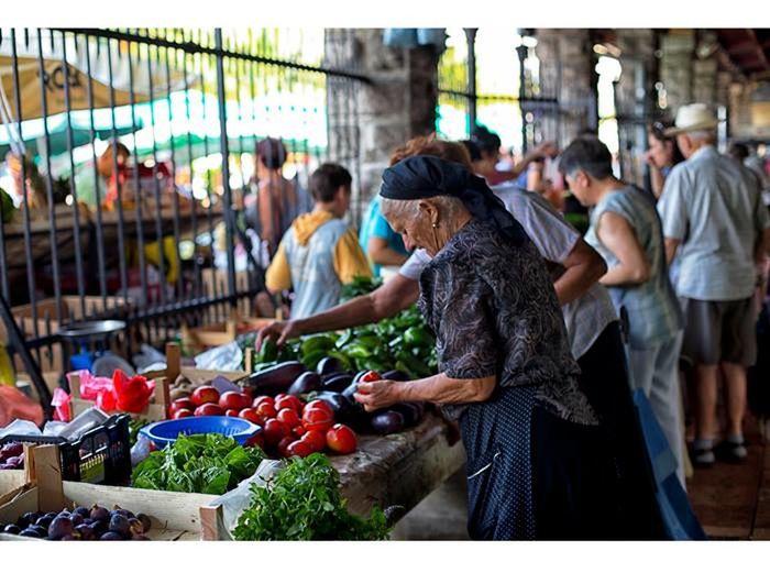 Cattaro Kotor Lifestyles Market Market Market Stall Montenegro Tourism Destination