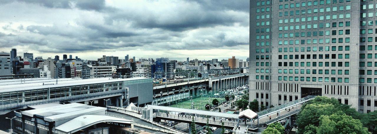 A room with a view, Osaka Panoramic Osaka Station Cloudporn Clouds And Sky Panorama IPhoneography Marriotthotel Marriott Hotel Room OSAKA View From The Window... A Room With A View Osaka 大阪 Osaka-shi,Japan Osaka,Japan Ultimate Japan