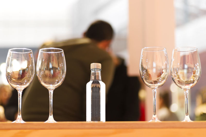 water tasting sampling with glasses and people , selective focus Water Water Drinks Water Beverages Tasting Water Sampling Water Tasting Sampling Glass Glasses Beverage Forum Celebration Test Testing Drink Goblet Gourmet Luxury Party Restaurant Elégance