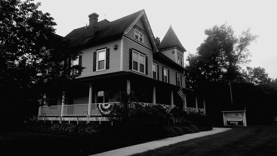 The stunning Raritan Inn in Califon, New Jersey. At the risk of sounding like an advert, the location is stunning, the rooms beautiful, the beds comfortable, and the breakfasts both ample and delicious. The Architect - 2017 EyeEm Awards