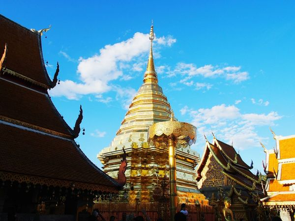 #chiangmai King - Royal Person City Gold Place Of Worship Luxury Statue Gold Colored Ancient Religion Business Finance And Industry