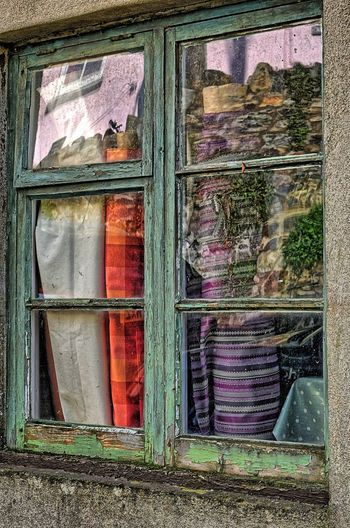 The Milliner's Window Architecture Bad Condition Building Exterior Built Structure Closed Damaged Day Deterioration House Material Materials Millinery Obsolete Old Outdoors Residential Structure Run-down Weathered Window Window Reflections Window View Windowframe Windows Wood - Material Woodwork