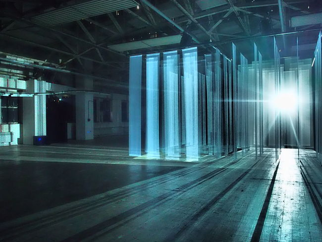 Architecture Art Installation Building Built Structure Illuminated Indoors  Industrial Light No People Olympus Shadow Welcome To Black