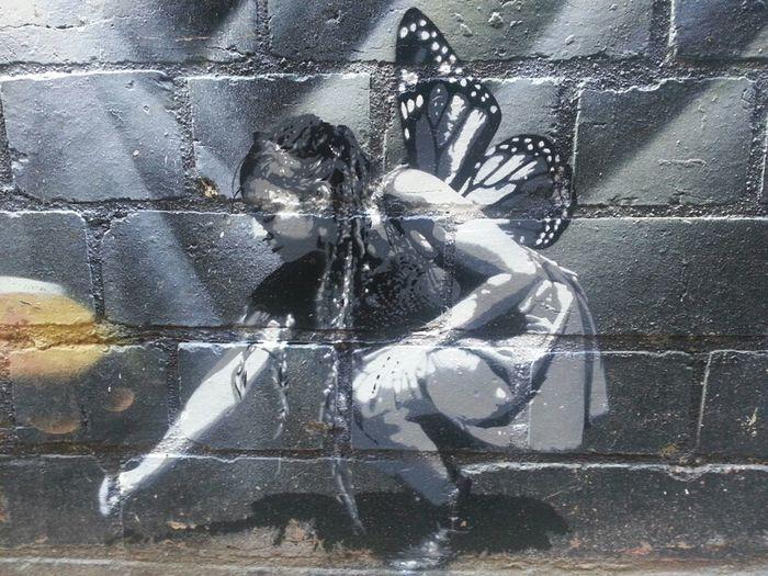 Graffiti Streetart Stencil Manofdarkness