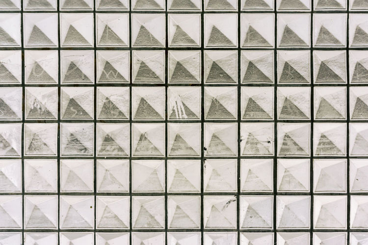 Wall with negative pyramid pattern covered by dust Berlin Germany 🇩🇪 Deutschland Horizontal Negative Architecture Backgrounds Building Built Structure Color Image Design Dust Full Frame Geometric Shape In A Row No People Outdoors Pattern Reversed Shape Square Shape Wall - Building Feature