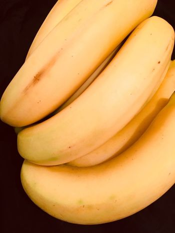 Group of bananas Bananas Food And Drink Food No People Close-up Healthy Eating Indoors  Yellow Freshness Black Background Ready-to-eat Day