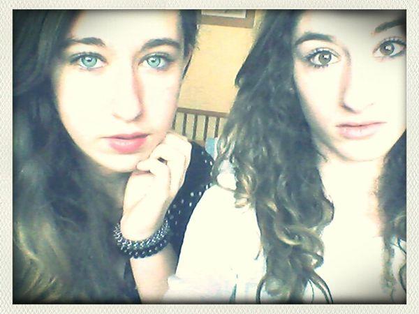 Ma soeur, ma vie, mon tout. I love you ♥♥♥ Sista ✌