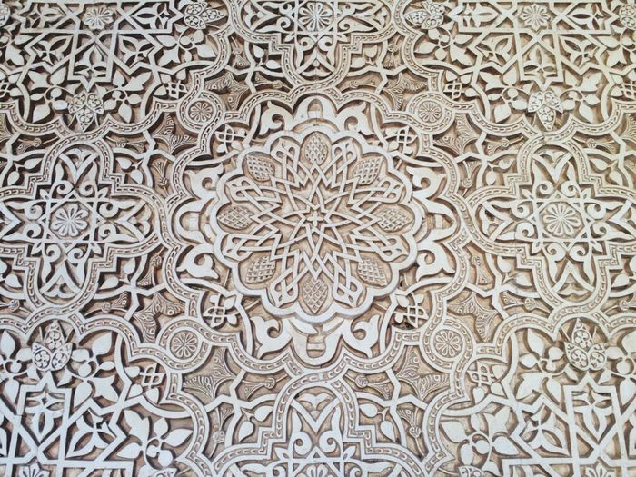 Granada, Spain Spainiswonderful Architectural Feature Backgrounds Architecture And Art History Moorish Moorish Design