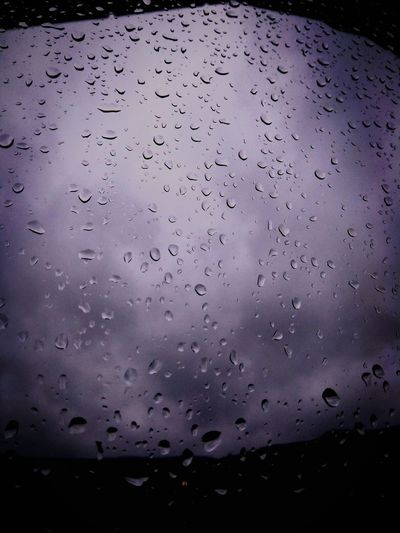 Rainy day.. Drop Wet No People Water Nature RainDrop Indoors  Backgrounds Sky Day Beauty In Nature Cold Rainy Rainy Day Window