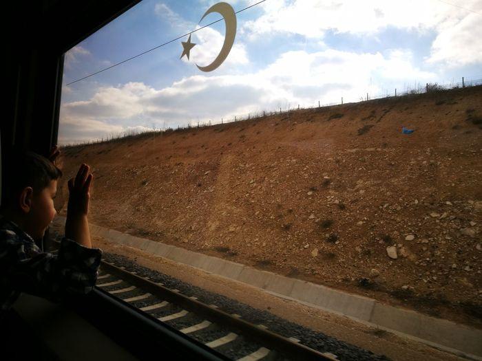 Tren Toroslar Torosekspresi Cloud - Sky Sky One Person One Man Only People Adult Only Men Outdoors Day
