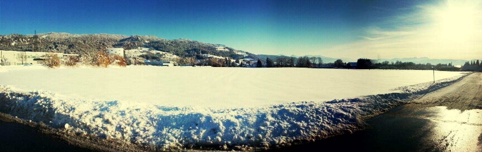 Snow everywhere...:-)