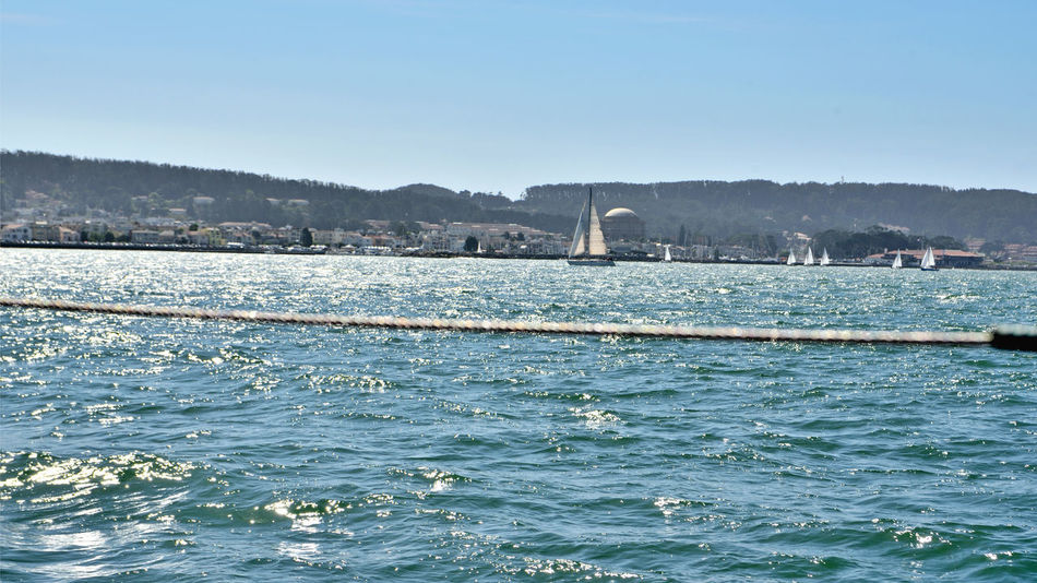 Sights Of The City 1 San Francisco CA🇺🇸 Sailing Aboard The Alma Scow Schooner Built 1869 The Palace Of Fine Arts, SF Marina Green Marina District Shoreline San Francisco Bay Landscape_Collection Landscape_photography Nature Beauty In Nature Nature_collection Sailboats Bayview City Views