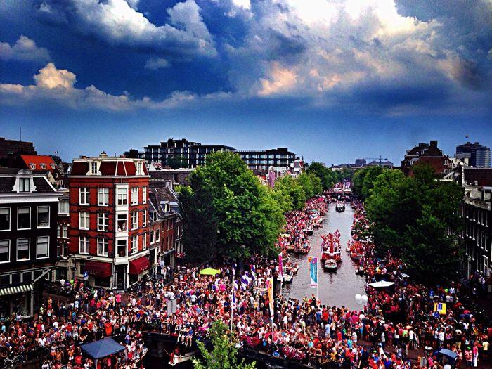 Jack And Cokee Celebrating Gay Pride Amsterdam Gay Pride