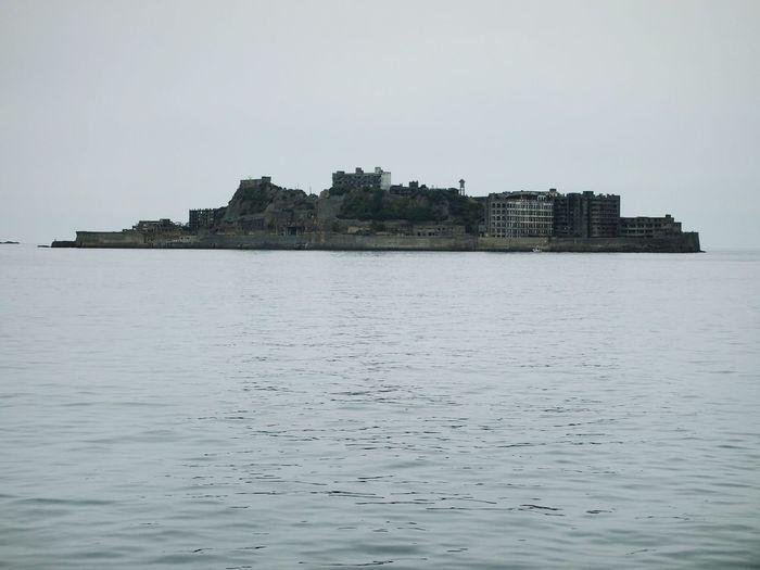 Gunkanjima Island Looks Like A Battleship Battleshipisland Nagasaki
