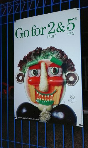 Go For 2 & 5 Fruit & Vegetable Funny Face FunnyFaces What The F**k Is This? Notices Funny Faces Not Strange To Me What The F**k, Is This ? Posters SignSignEverywhereASign Poster Somethingdifferent Signs, Signs, & More Signs Fruit & Veg Faces Fruit & Vegetable Face Fruit & Veg Sign Signs_collection Signporn Face SignsSignsAndMoreSigns Signs Strange Face LOL