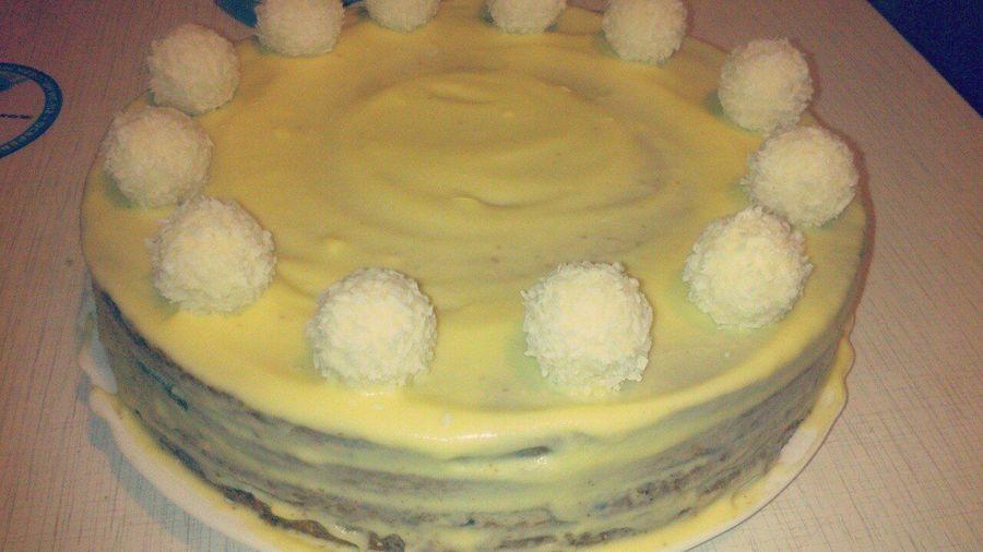 решила приготовить тортик)