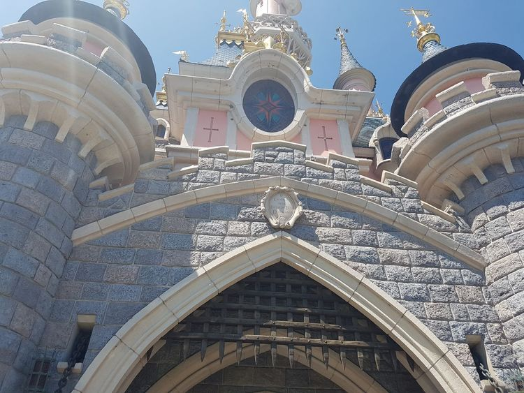 Here is a Low angle Photo shot of Disneyland Paris Theme Park Castle. 2017 2017 Year Architectural Column Architecture Building Exterior Built Structure Castles Day Disneyland Paris Disneyland Paris 💚🎆🗼 Disneyland Resort Paris DLRP France Eurodisney Eurodisneyland France Trip High History Low Angle View Low Angle View Marne La Vallee-Chessy No People Outdoors Sky Travel Destinations Travel Photography