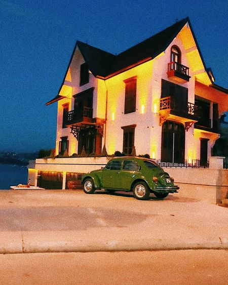 Sea And Sky Ortaköy IPhoneography Green Color Greencar Tosbağa Vosvos Wosvogen Yeşil Nature VSCO Cam Colors EyeEmNewHere No People ıstanbul, Turkey VSCO Photographylovers Photography Photographer