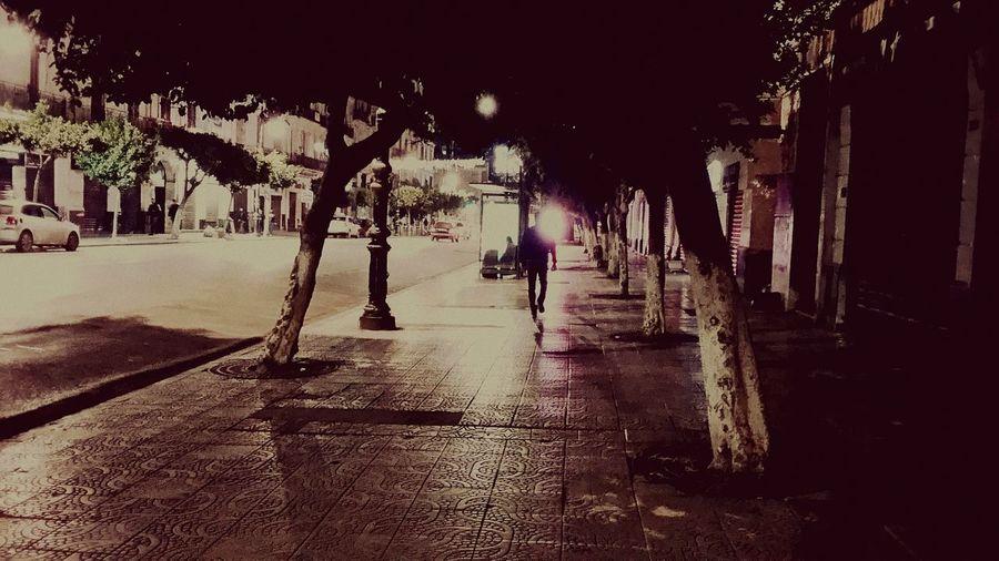 A walk ..