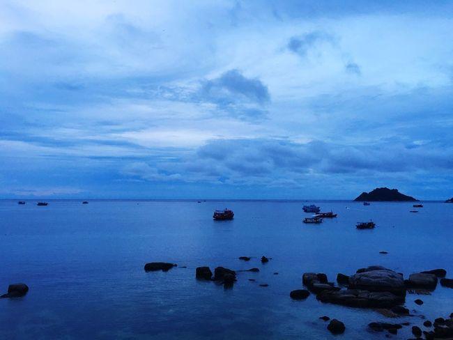 Blue world Sky Water No People Nature Sea Blue Landscape Ocean