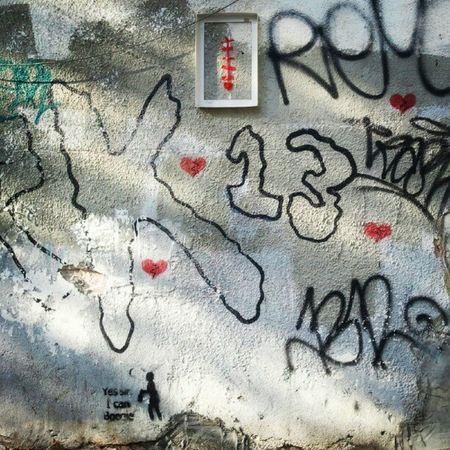 Grafitty Spray Wall Graphic instagramers instagood street art tlv ilovetlv israel