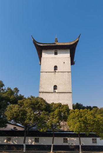 Soochow University Tree History No People Outdoors Travel Destinations Blue Architecture Day Sky Nature Clock Face