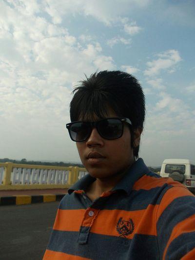 selfie Sunburn2014 Goa India Sunset Bikeride