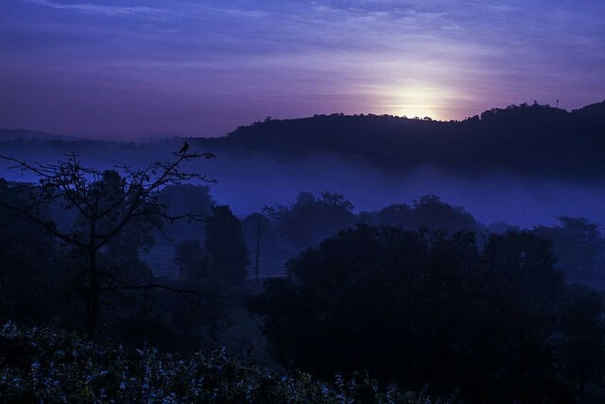Sunrise near lavasa