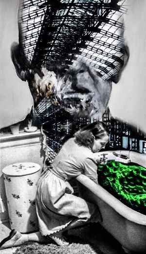 The Old Order Photographic Approximation Facial Experiments Forgotten Dreams New Nightmares Collage Surrealism