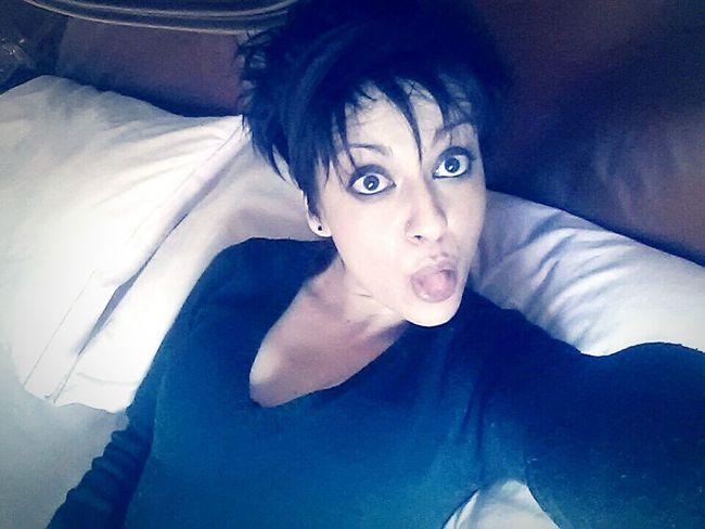 Girl Selfie First Eyeem Photo Colours Pazzia Buonasera Eye4photography  Linguaccia
