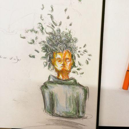 Draw Drawing Passion Love Drawing ❤ Fantasy