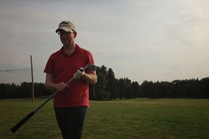Conor. Pennsylvania Hermitage Portrait Golfing