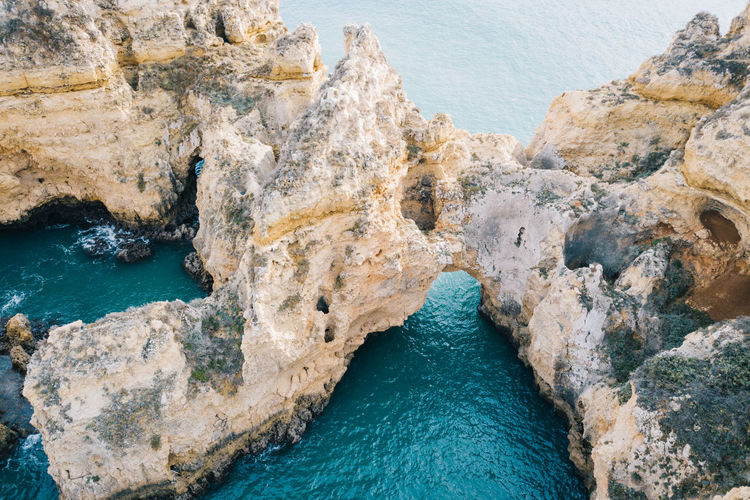 Algarve Atlantic Atlantic Ocean Coastline Drone  Lagos Ponta Da Piedade Tourist Attraction  Aerial View Algarve, Portugal Beach Beauty In Nature Blue Water Cave Cliff Coast Day Dji Nature No People Outdoors Rock - Object Rock Formation Scenics Sea Seaside Sky Tranquility Water Waterfront