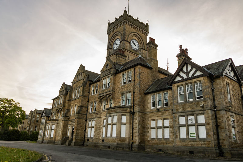 Architecture Asylum Building Exterior Built Structure Canon Canon_photos Day History Leeds Low Angle View Menston Moody No People Outdoors Religion Sky Travel Destinations West Yorkshire Yorkshire
