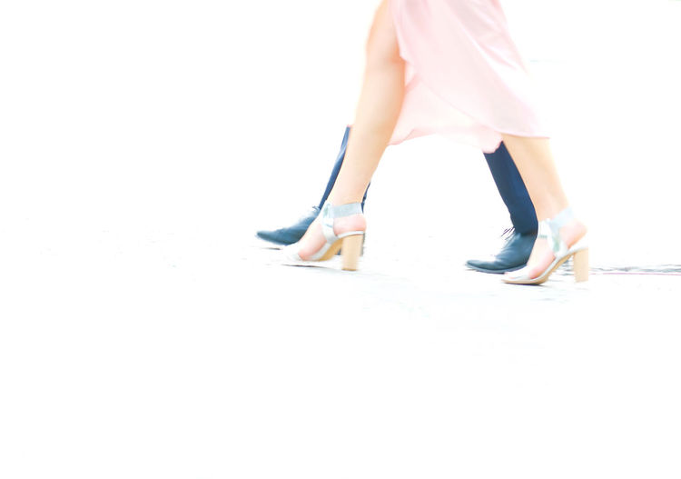 Couple Fashion High Heels Party Time People Pink Dress Shoes Streetphotography Two People Walking
