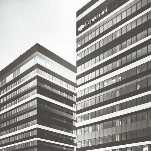 Built Structure Architecture Business Finance And Industry City Building Exterior Photooftheday Bestphotos Office Building Kato  Katowice Vscokato Architecturelovers Cityscape City Architecture Cityscapes B&w Street Photography Blackandwhitephotography Blackandwhite Black & White