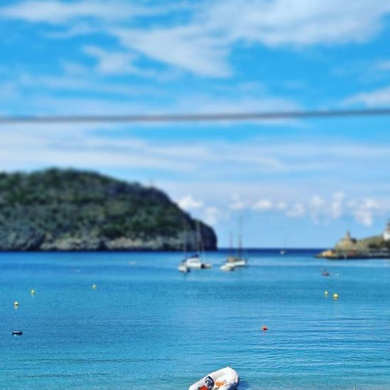 Mache mir jetzt ne Blaue Stunde. Endlesssummer Vacationtweet 😎 🌴 Lifeisgood Portdesóller Mallorca Baleares Spain