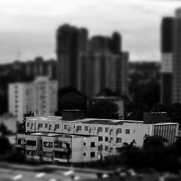 Tiltshift Miniature Fozeassim FozDoIguaçu City Maqueta Arquitectura Urban City_explore Great Blackandwhite Skyline