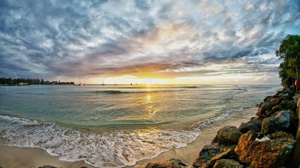 Sunset Pigeon point Tobago