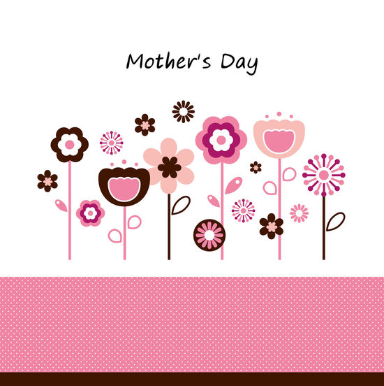 Mothers Day : Original hand-drawn CUTE ART for sell 50 60 Day Digital Art Digital Media Luxury Mothers Day Pink Color Style
