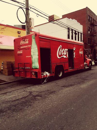 So original Coca-Cola truck