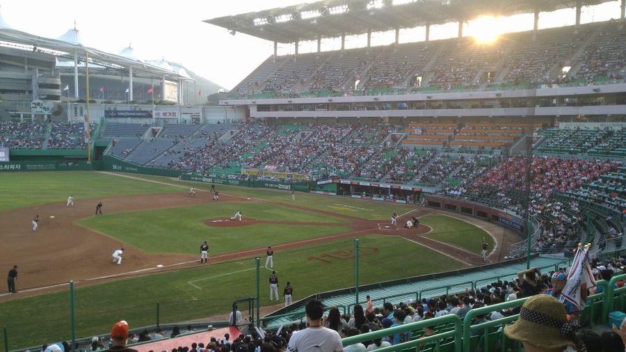 0814 Incheon Munhak Stadium Lotte Giants SK WYVERS