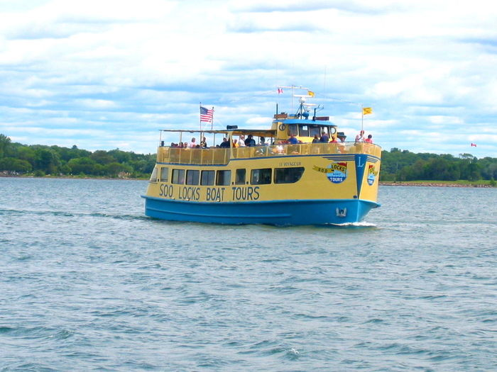 Ferry Michigan Pure Michigan Mich Soo Soolocks Saultstmarie Carferry Boatrides Tourboat