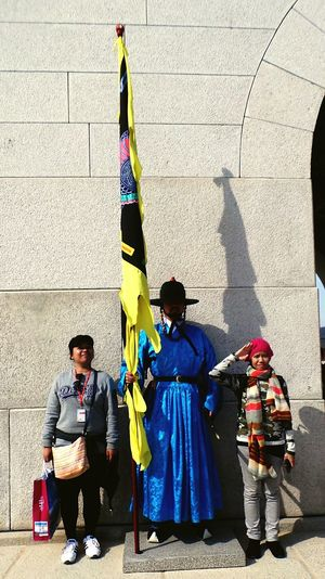 Once Upon A Time we're with the marching soldier.. Gyeongbokgung Palace, Seoul Korea