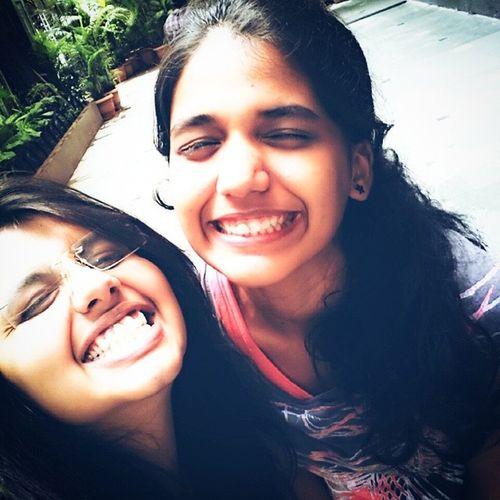 even when we are grinning like idiots we manage to look cute !! Bro Loveher WeAreAFamily Raj_k_chashme humare toothpaste me namak hai collegetp bestfriendsforlife mana o_heeriye