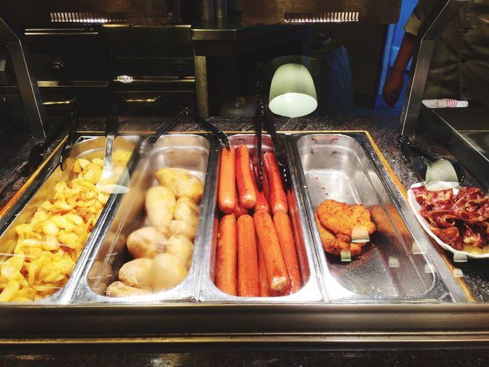 Systemgastronomie Potatoes Fastfood Restaurant Kantine Cantina